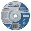 Norton Bluefire Depressed Center Wheels, 5 Dia, 5/8 Arbor, 1/4 Thick, 24 Grit NRT 547-66252843217