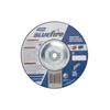 Norton Bluefire Depressed Center Wheels, 7 Dia, 5/8 Arbor, 1/4 Thick, 24 Grit NRT 547-66252843235