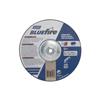 Norton Bluefire Depressed Center Wheels, 9 Dia, 5/8 Arbor, 1/4 Thick, 24 Grit NRT 547-66252843246