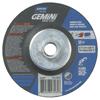 Norton Gemini Fastcut Depressed Center Wheel, 4 1/2 In Thick, Aluminum Oxide NRT 547-66252843585