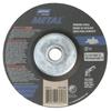 Norton Type 27 Gemini Depressed Center Wheel, 5 Dia, 5/8 Arbor, 20 Grit, 11/Pack NRT 547-66252843613