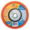 Norton Blaze Rapid Strip Depressed Center Discs, 4 1/2 In, 12,000 RPM, Orange NRT 547-66254498101