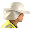 OccuNomix Hard Hat Shades, White, For Most Regular Hard Hats OCC 561-898-008
