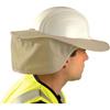 OccuNomix Stow Away Hard Hat Shades, Khaki OCC 561-899-KHK
