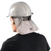 OccuNomix MiraCool Fr Hard Hat Pads W/ Shade, Grey OCC 561-969-FR