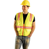 OccuNomix Contractor Surveyors Vest 561-LUX-XTRANS-YL