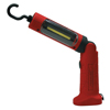 ATD Tools Hand-Held Swivel Work Light, Rubberize Polymer, 3 W, 230 Lumens, Red ATD 569-80303