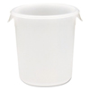Rubbermaid Commercial Round Storage Containers RCP 5721 WHI