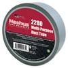 Adhesives & Tapes: Berry Plastics - 2280 General Purpose Duct Tapes, Silver, 55M X 48mm X 9 Mil