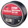 Adhesives & Tapes: Berry Plastics - 2280 General Purpose Duct Tapes, Black, 55M X 48mm X 9 Mil
