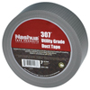 Adhesives & Tapes: Berry Plastics - 307 Utility Grade Duct Tapes, Silver, 48 mm X 55 M X 7 Mil