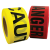 Berry Plastics Barrier Safety Tape, 3 In X 1,000 Ft, Red, Danger BER 573-1088293