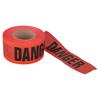 Berry Plastics Barrier Safety Tape, 3 In X 1,000 Ft, Red, Danger Do Not Enter BER 573-1088294