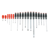 Proto Duratek 19 Piece Combination Screwdriver Sets, Keystone Slotted; Phillips PTO 577-1219SC