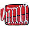 Proto Metric Open End Wrench Sets PTO 577-30000R