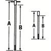 Proto T-Handle Rods PTO 577-4260R