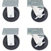 Proto Standard-Duty Roller Cabinet Caster Sets PTO 577-44701