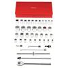 Proto Torqueplus™ 42 Piece 12 & 6 Point Drive Tool Socket Sets PTO 577-55106