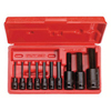 Proto 10 Piece Hex Bit Impact Socket Sets PTO 577-72156