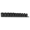 Proto Torqueplus™ 11 Piece Metric Impact Socket Sets PTO 577-72202