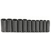 Proto Torqueplus™ 11 Piece Deep Impact Socket Sets PTO 577-74112