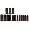 Proto Torqueplus™ 15 Piece Deep Impact Socket Sets PTO 577-74114