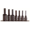 Proto 7 Piece Hex Bit Impact Socket Sets PTO 577-74152