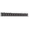 Proto Torqueplus™ 15 Piece Metric Impact Socket Sets PTO 577-74204