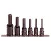 Proto Torqueplus™ 6 Piece Metric Hex Bit Impact Socket Sets PTO 577-74252