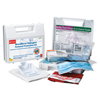 First Aid Safety First Aid Kits: First Aid Only - Bloodborne Pathogen Protection Kits, Plastic, Portable, Zipper Case