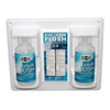 eye wash: First Aid Only - Eye & Skin Flush Emergency Station/Replacement Twin Bottles, 32 oz