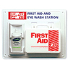 First Aid Safety First Aid Kits: Pac-Kit - Contractor's First Aid & Eye Flush Stations