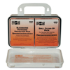 first aid kits: First Aid Only - Bloodborne Pathogen And Cpr Kits, Weatherproof Plastic, 28 Pieces, Wall Mount