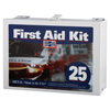 First Aid Only 25 Person Industrial First Aid Kits, Steel (Non-Gasketed), Wall Mount FAO 579-6086