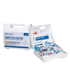 First Aid Only Bulk First Aid Kits, 25 Person, Plastic, Portable, Wall Mounted FAO 579-90588