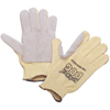 Safety-zone-leather-gloves: Honeywell - Junk Yard Dog Gloves, Men's, Yellow