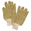 Honeywell Perfect Fit Gloves, Mens, Yellow/White FND 582-KVT24A-CKC