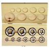 Irwin Re-Threading Hexagon Fractional Die Sets IRW 585-25701