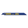 Irwin Metal Cutting Reciprocating Blades With Weldtec, 8 In X 0.738 In, 18 Tpi, 25/Pk IRW 585-372818BB