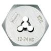 Irwin High Carbon Steel Fractional Hexagon Dies IRW 585-6534
