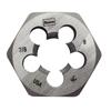Irwin High Carbon Steel Fractional Hexagon Dies IRW 585-8461