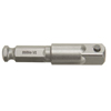 Facility Maintenance: Irwin - 7/16 Inch Hex Shank Square Drive Socket Adapters