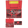 Irwin 64-Piece Machine Screwith Fractional Sizes Tap & Die Combination Sets IRW 585-98146
