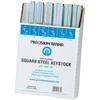 Precision Brand Square Zinc Plated Steel Keystock Assortments PRB 605-14680