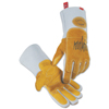 Caiman Revolution Welding Gloves, Pig Grain Leather, X-Large, White/Brown ORS 607-1812-XL