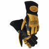 Caiman Revolution II Cow-Grain Welding Gloves, Black/Gold, Large ORS 607-1832-L