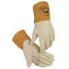 Caiman Kontour Welding Gloves, Cow Grain Leather, X-Large, Cream ORS 607-1869-XL