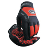 Caiman Silicon Grip Gloves, Medium, Red/Black ORS 607-2951-M