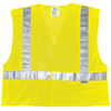 River City Luminator Class II Tear-Away Safety Vests, Medium, Fluorescent Lime RVC 611-CL2MLM