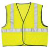 River City Class II Safety Vests, Large, Fluorescent Lime RVC 611-VCL2MLL